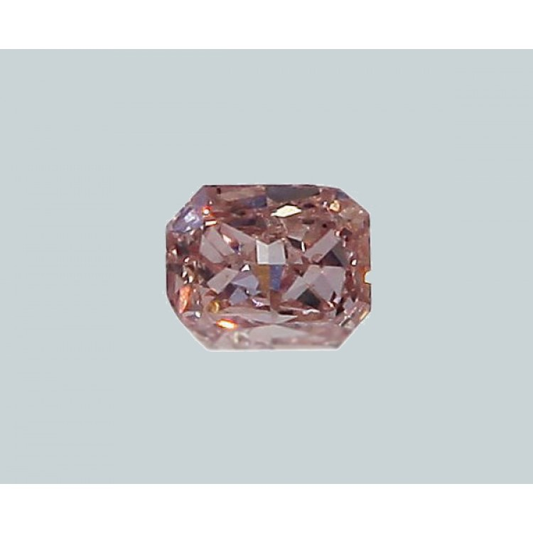 GIA Certified 0.08 ct. Fancy Orangy Pink Diamond - UNTREATED